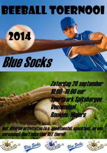 Beeball Toernooi Blue Socks 2014