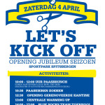 Seizoensopening: Let's Kick Off